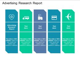 Advertising Research Report Ppt Powerpoint Presentation File Backgrounds Cpb