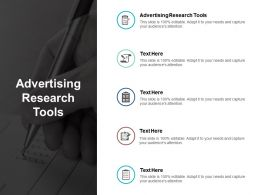 advertising_research_tools_ppt_powerpoint_presentation_diagram_lists_cpb_Slide01