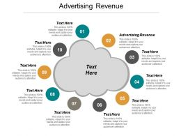 Advertising Revenue Ppt Powerpoint Presentation File Backgrounds Cpb