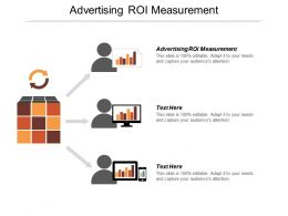Advertising Roi Measurement Ppt Powerpoint Presentation Pictures Tips Cpb