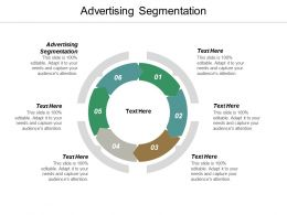Advertising Segmentation Ppt Powerpoint Presentation Icon Elements Cpb
