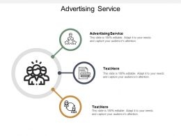 Advertising Service Ppt Powerpoint Presentation Styles Smartart Cpb