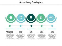 Advertising Strategies Ppt Powerpoint Presentation Diagram Ppt Cpb
