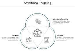 Advertising Targeting Ppt Powerpoint Presentation File Inspiration Cpb