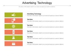 Advertising Technology Ppt Powerpoint Presentation Portfolio Guide Cpb
