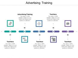 Advertising Training Ppt Powerpoint Presentation Pictures Deck Cpb