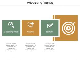 Advertising Trends Ppt Powerpoint Presentation File Clipart Cpb