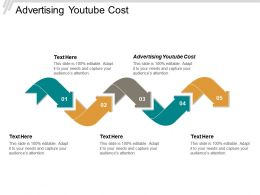 Advertising Youtube Cost Ppt Powerpoint Presentation Pictures Example Introduction Cpb