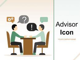 Advisor Icon Business Financial Dollar Demonstrating Evaluating Property
