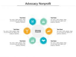 Advocacy Nonprofit Ppt Powerpoint Presentation Infographics Ideas Cpb