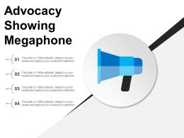 Advocacy Showing Megaphone