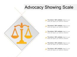 Advocacy Showing Scale