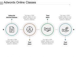 Adwords Online Classes Ppt Powerpoint Presentation Pictures Format Ideas Cpb