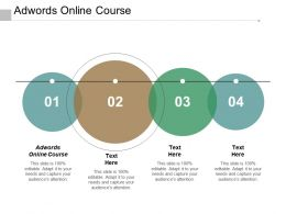 Adwords Online Course Ppt Powerpoint Presentation Pictures Graphic Images Cpb