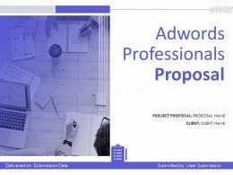 Adwords Professionals Proposal Powerpoint Presentation Slides