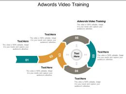 Adwords Video Training Ppt Powerpoint Presentation Pictures Graphics Download Cpb