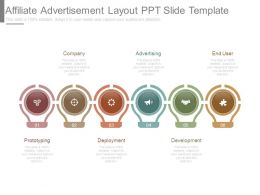 Affiliate Advertisement Layout Ppt Slide Template