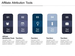 Affiliate Attribution Tools Ppt Powerpoint Presentation File Background Images Cpb