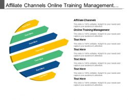 Affiliate Channels Online Training Management Accounts Payable System