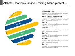 Affiliate Channels Online Training Management Accounts Payable System