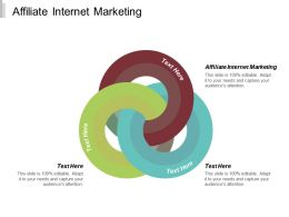 Affiliate Internet Marketing Ppt Powerpoint Presentation Ideas Topics Cpb