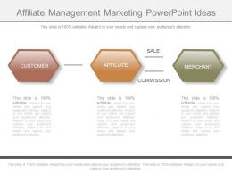 Affiliate Management Marketing Powerpoint Ideas