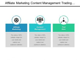 Affiliate Marketing Content Management Trading Strategy Affiliate Marketing Cpb