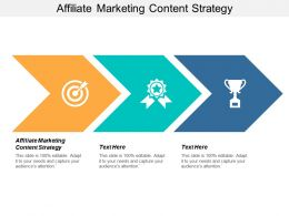 Affiliate Marketing Content Strategy Ppt Powerpoint Presentation Slides Gridlines Cpb