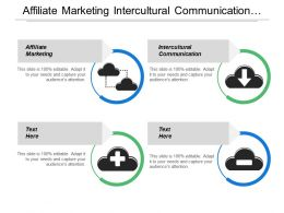 Affiliate Marketing Intercultural Communication Career Goal Organisation Development