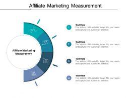 Affiliate Marketing Measurement Ppt Powerpoint Presentation Icon Cpb