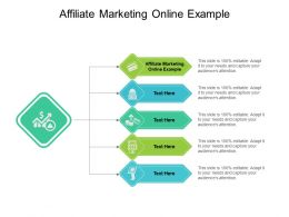 Affiliate Marketing Online Example Ppt Powerpoint Presentation Templates Cpb