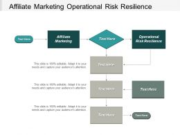 Affiliate Marketing Operational Risk Resilience Personalisation Marketing Vulnerability Management Cpb