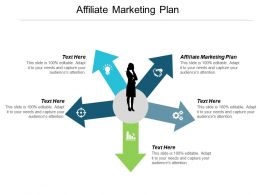 Affiliate Marketing Plan Ppt Powerpoint Presentation Infographics Cpb
