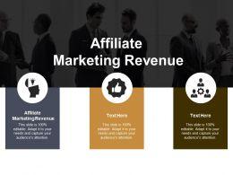 Affiliate Marketing Revenue Ppt Powerpoint Presentation File Professional Cpb