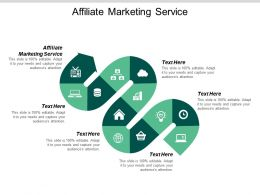 Affiliate Marketing Service Ppt Powerpoint Presentation File Example File Cpb