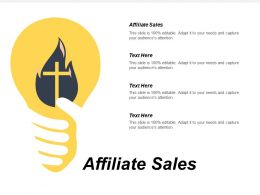 Affiliate Sales Ppt Powerpoint Presentation Diagram Lists Cpb