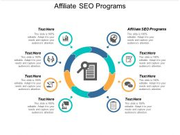 Affiliate SEO Programs Ppt Powerpoint Presentation Outline Structure Cpb