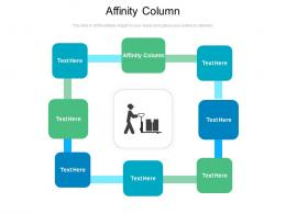 Affinity Column Ppt Powerpoint Presentation Infographics Slides Cpb
