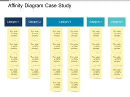 Affinity Diagram Case Study Ppt Background Designs
