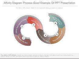 Affinity Diagram Process Good Example Of Ppt Presentation