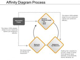 Affinity Diagram Process Presentation Portfolio
