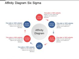 Affinity Diagram Six Sigma Ppt Examples