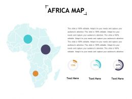 Africa Map Ppt Show Format Ideas