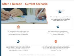 After A Decade Current Scenario Ppt Powerpoint Presentation Gallery Design Templates
