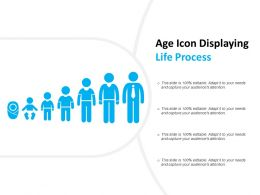 Age Icon Displaying Life Process