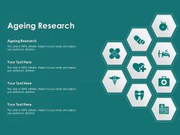 Ageing Research Ppt Powerpoint Presentation File Skills