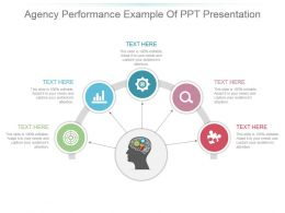 Agency Performance Example Of Ppt Presentation