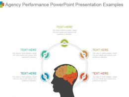 Agency Performance Powerpoint Presentation Examples