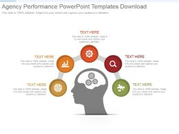 Agency Performance Powerpoint Templates Download