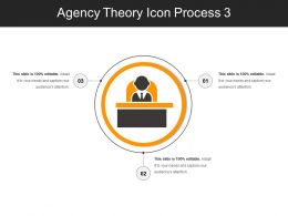 Agency Theory Icon Process 3